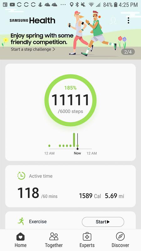 11111 Steps
