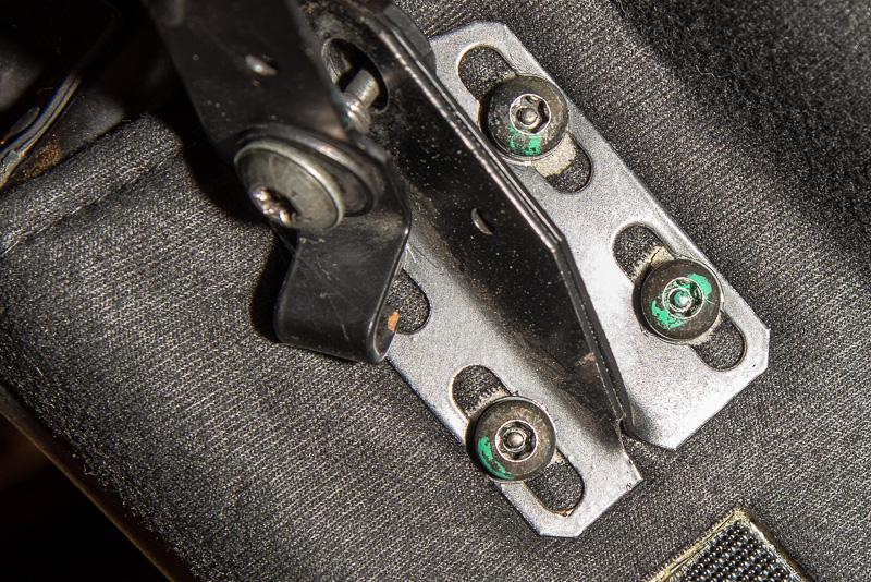 hard top rear mounting bolts