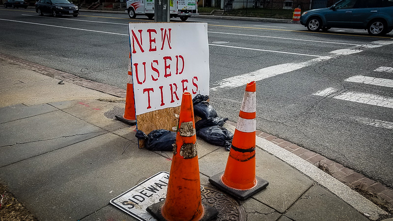 New Used Tires