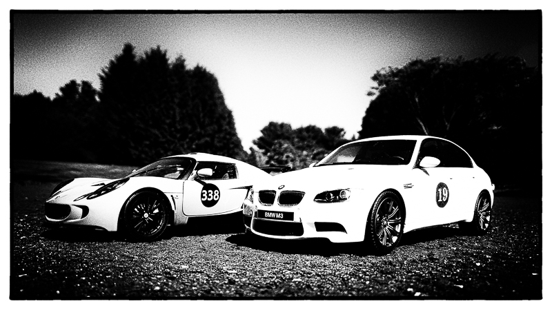Lotus & M3 ready for the track